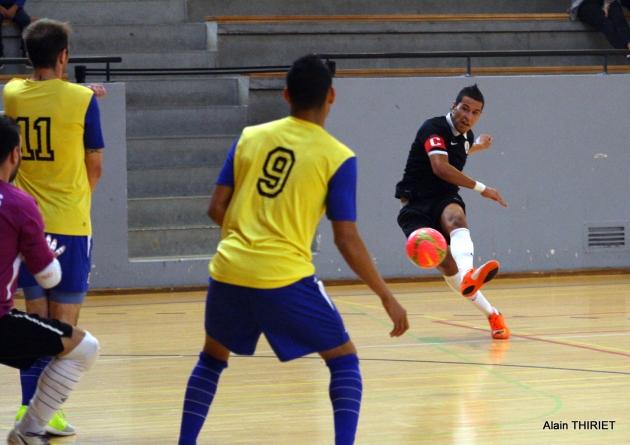 Lourde défaite pour Picasso au Sporting Paris Futsal