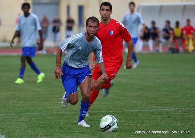 Le FC Échirolles sorti de la Coupe Rhône-Alpes