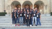 Mohamed Gallouze au championnat universitaire de futsal