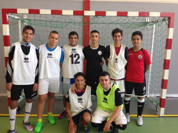 8 jeunes du FC Picasso en détection