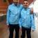 Gultekin et Zoubir avec l'équipe de France U21 de futsal
