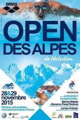 Première édition de l'Open des Alpes de Natation les 28 et 29 novembre