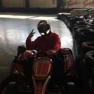 Challenge « Formule Kart » des capitaines : Antoine Garnier (AL Échirolles Basket)