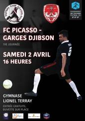 Futsal – D1 : Encore un gros morceau pour Picasso