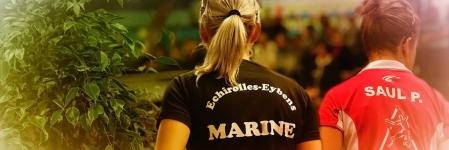 Marine Zanardi (Echirolles Eybens Tennis de Table) commence par un exploit
