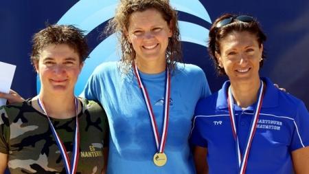 Élisabeth Chambon (NC Alp 38) championne et recordwoman de France du 50nl