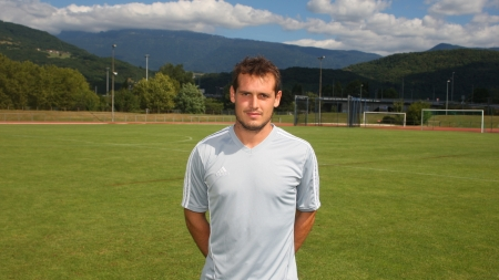 Interview de Romain Villard, défenseur au FC Echirolles