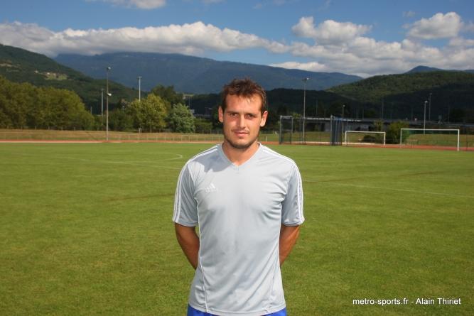 Interview de Romain Villard, défenseur au FC Echirolles