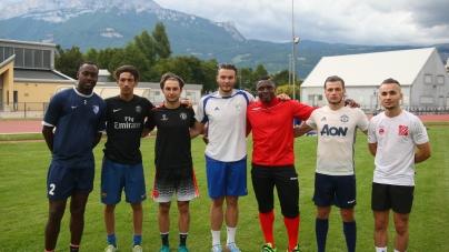Les photos de la reprise du FC Echirolles