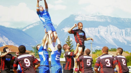 Les rugbymen de l'AL Echirolles s'imposent largement