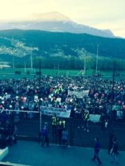 Forte mobilisation lors de la marche blanche à la mémoire de Grégory Baharizadeh