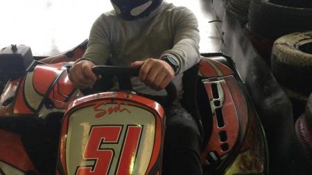 Challenge «Formule Kart» des capitaines : Romain Provenzano (FC Échirolles)